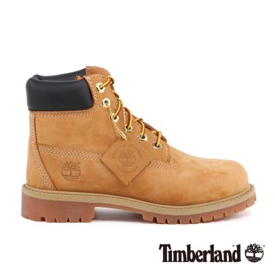 Timberland 童款經典高筒防水黃靴