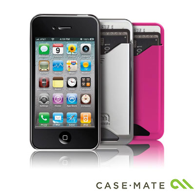 Case-Mate-iPhone-4-專用-ID-Case-超薄卡夾保護硬殼-共三色