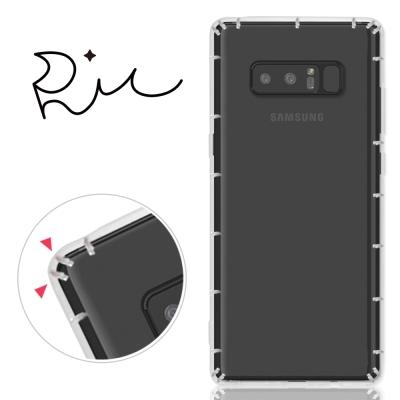 RedMoon 三星 Galaxy Note8 防摔氣墊透明TPU手機軟殼