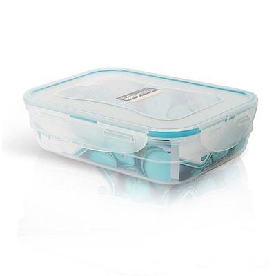 樂扣樂扣PP保鮮盒EASY MATCH 850ML/寶藍色 (8H)