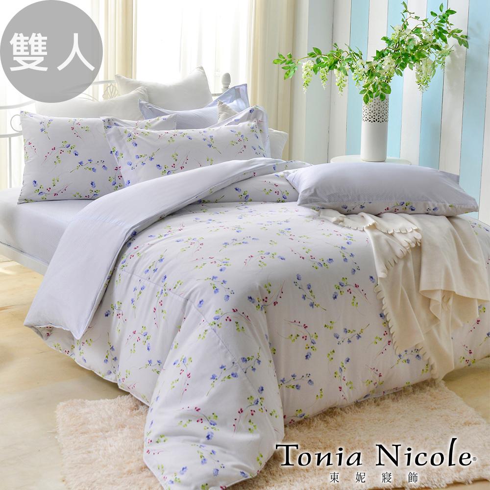 Tonia Nicole東妮寢飾森活悅曲精梳棉兩用被床包組(雙人)