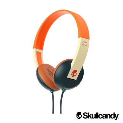 美國Skullcandy 潮牌Uproar阿波羅 小耳罩式耳機-綠橘紅色(公司貨)