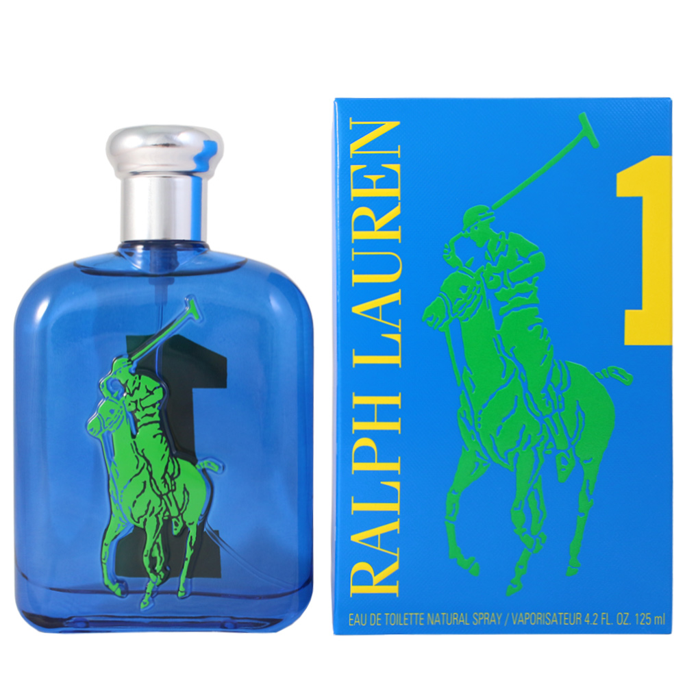 RALPH LAUREN BIG PONY#1馬球男性淡香水-運動款125ml