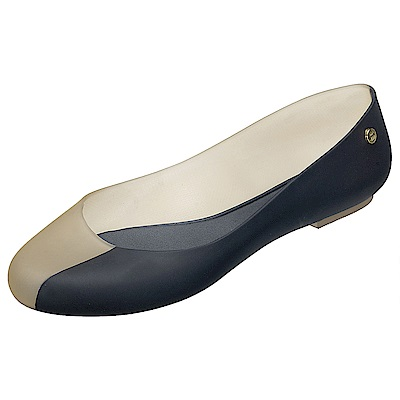 Melissa 漸層色調果凍包鞋-米/黑