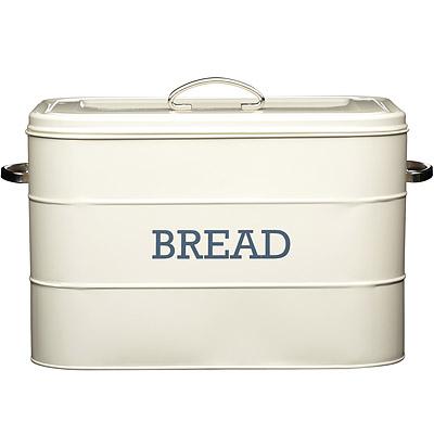 KitchenCraft 復古麵包收納盒(奶油黃)