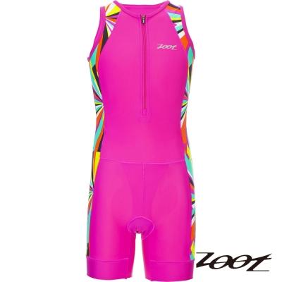 ZOOT 肌能連身專業級小鐵人服 (炫彩桃) Z1606040