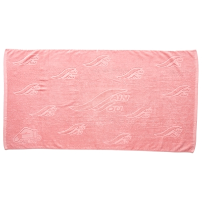 聖手牌 浴巾 緹花大浴巾(粉紅色)