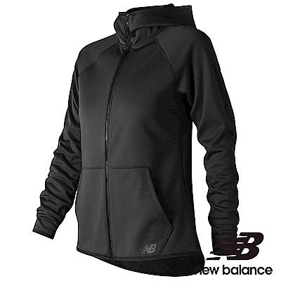 New Balance刷毛連帽外套AWJ73157BK女性黑色