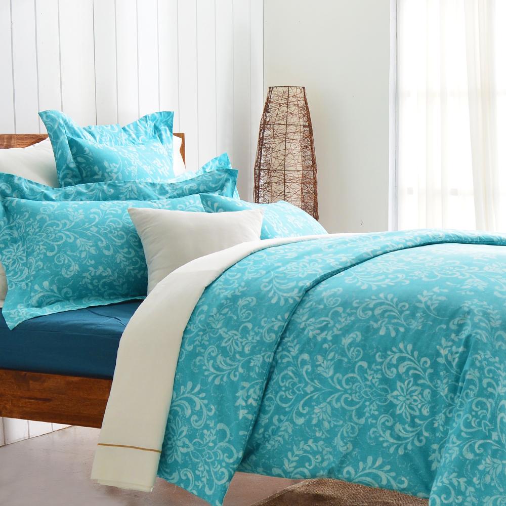 Cozy inn 靜思- 200織精梳棉四件式兩用被床包組(雙人)