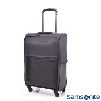Samsonite新秀麗 20吋72H四輪TSA極輕量布面登機箱(灰)