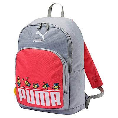 PUMA-孩童小小兵後背包-灰色