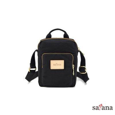 satana - 放假趣迷你斜背包 - 黑色