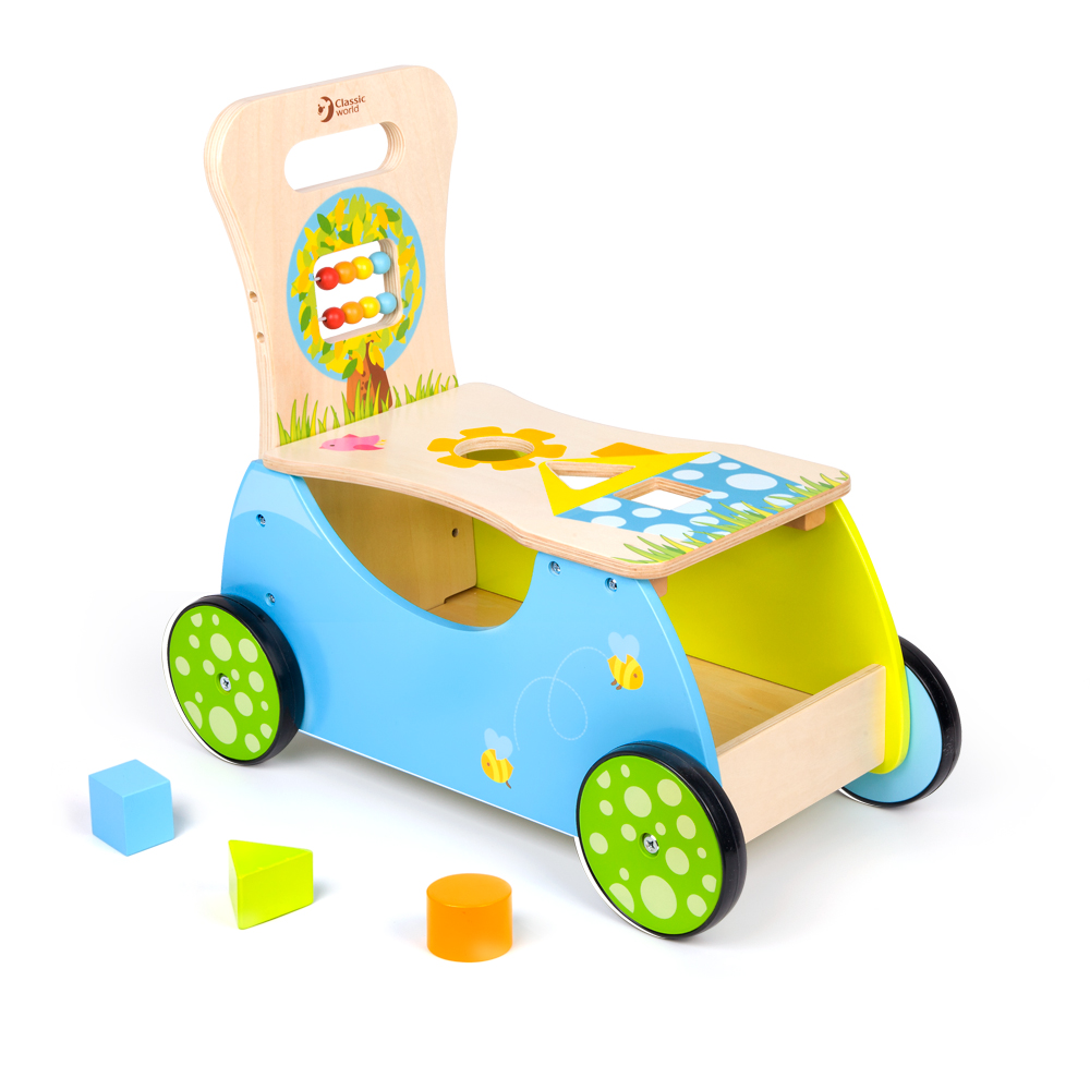 classic world 幼兒學習手推車