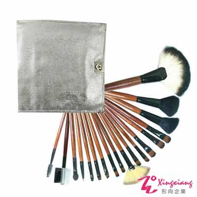 Xingxiang形向 銀色18支套刷 刷具組 18-14-3