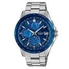 OCEANUS蔚藍綻放輕薄美型碳鈦化技術電波錶(OCW-T2610F-2)藍IP/48mm