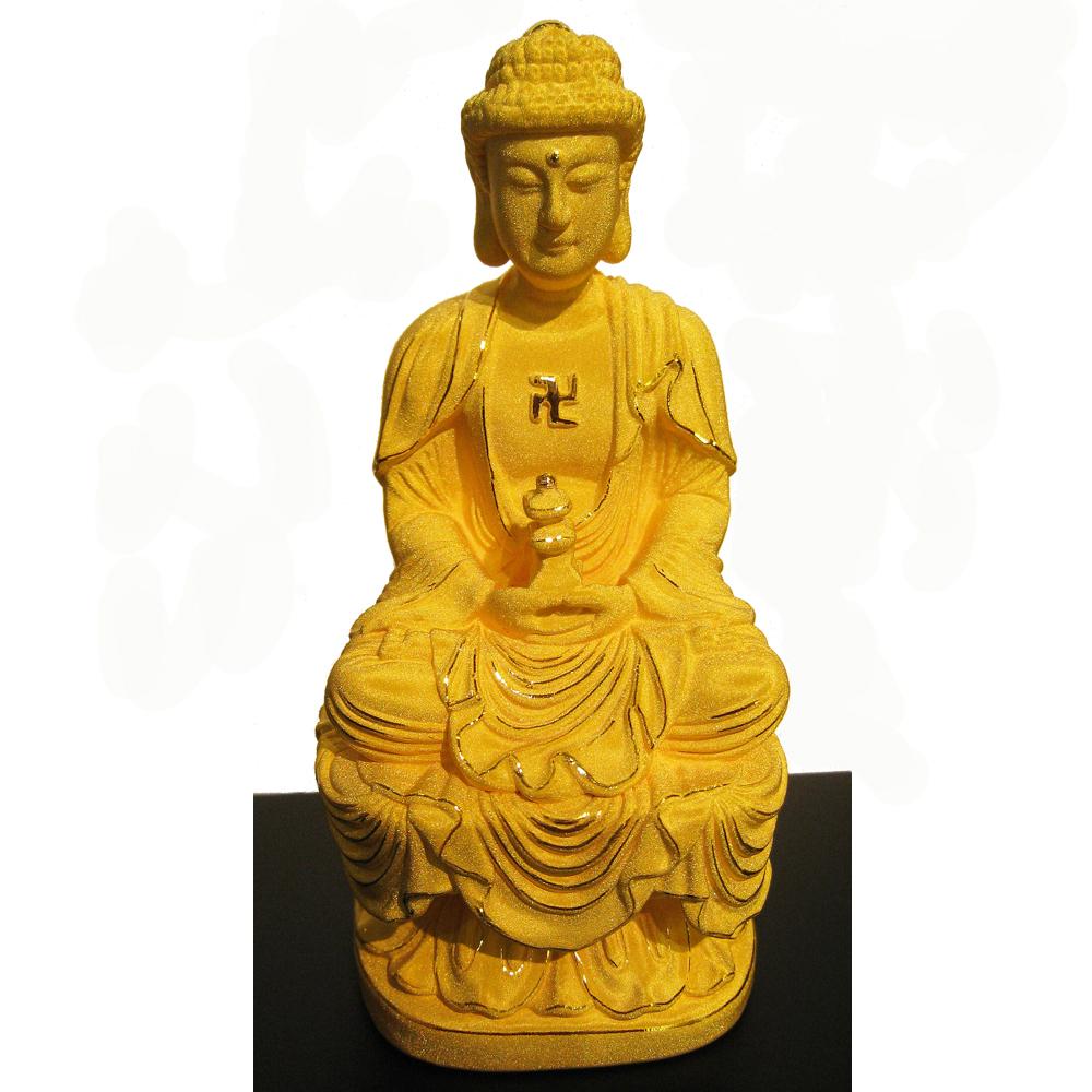 佛陀 佛祖 釋迦牟尼 金飾立體擺件