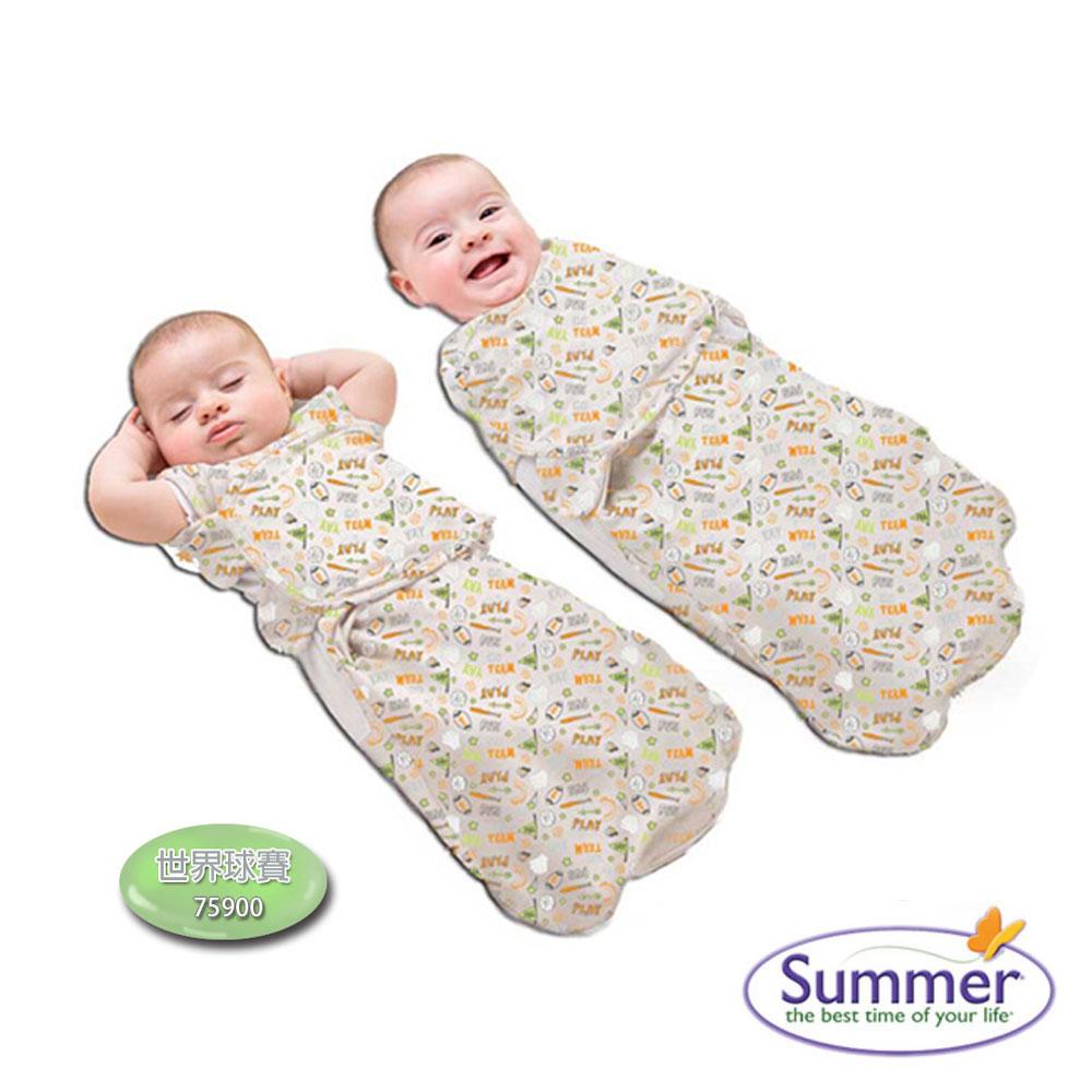 美國品牌 Summer Infant 2合1 聰明懶人育兒睡袋 - 加大共4款