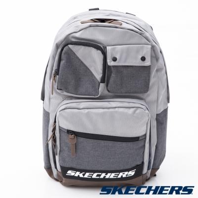 SKECHERS NET 後背包 灰 - S14038