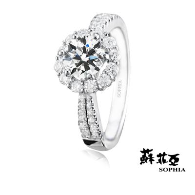 蘇菲亞SOPHIA 求婚戒-秘密花園0.30克拉鑽戒
