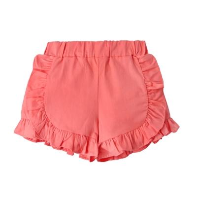 baby童衣 女童 梭織荷葉邊短褲 53011