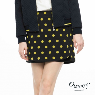 OUWEY歐薇-草間彌生最愛點點褲裙