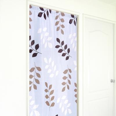 布安於室-三色葉雙用遮光門簾-寬130x高180cm
