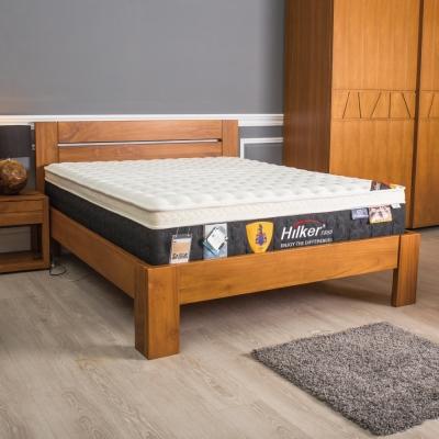 床架 雙人加大6尺 皮埃蒙特柚木實木床台 杰諾家居