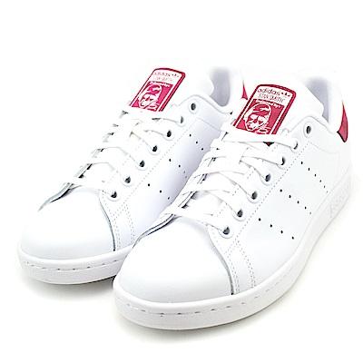 24H-ADIDAS-女休閒鞋DB1201-白