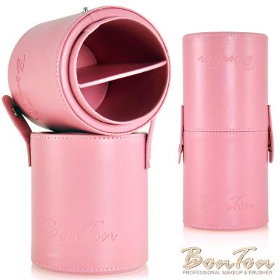 BonTon專業刷具 分格式圓形刷筒 典雅粉紅