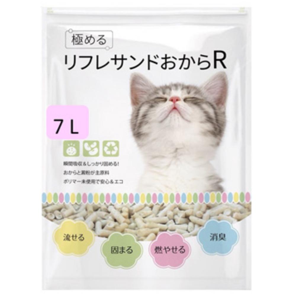 YOYO天然環保豆腐貓砂 7L 六包組