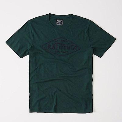AF a&f Abercrombie & Fitch 短袖 T恤 綠 0679