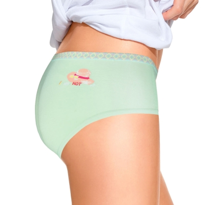 sloggi-Giggle 微甜笑顏系平口內褲M-EL(綠)