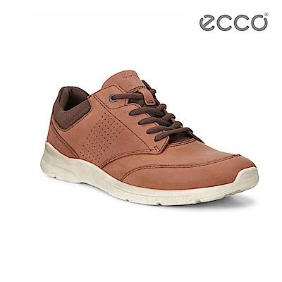 ECCO IRVING 低調質感休閒鞋-棕