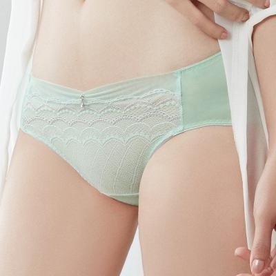 推Audrey-舒波AIR 中腰三角褲(薄荷綠)
