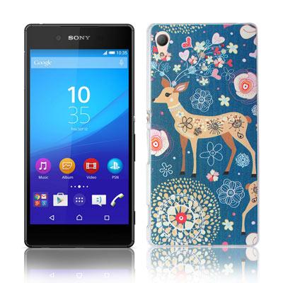 VXTRA Sony Xperia Z3+ 5.2吋藝術彩繪保護殼 背蓋
