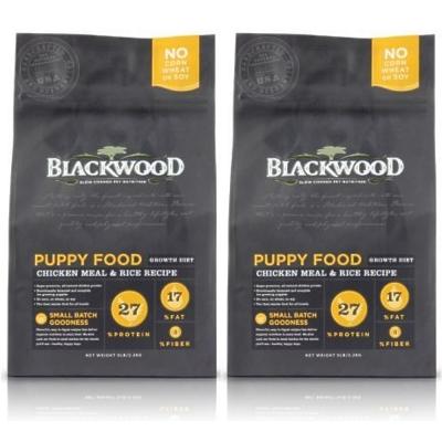 BlackWood 柏萊富 幼犬 雞肉+米 5磅 2.27公斤 X 2包