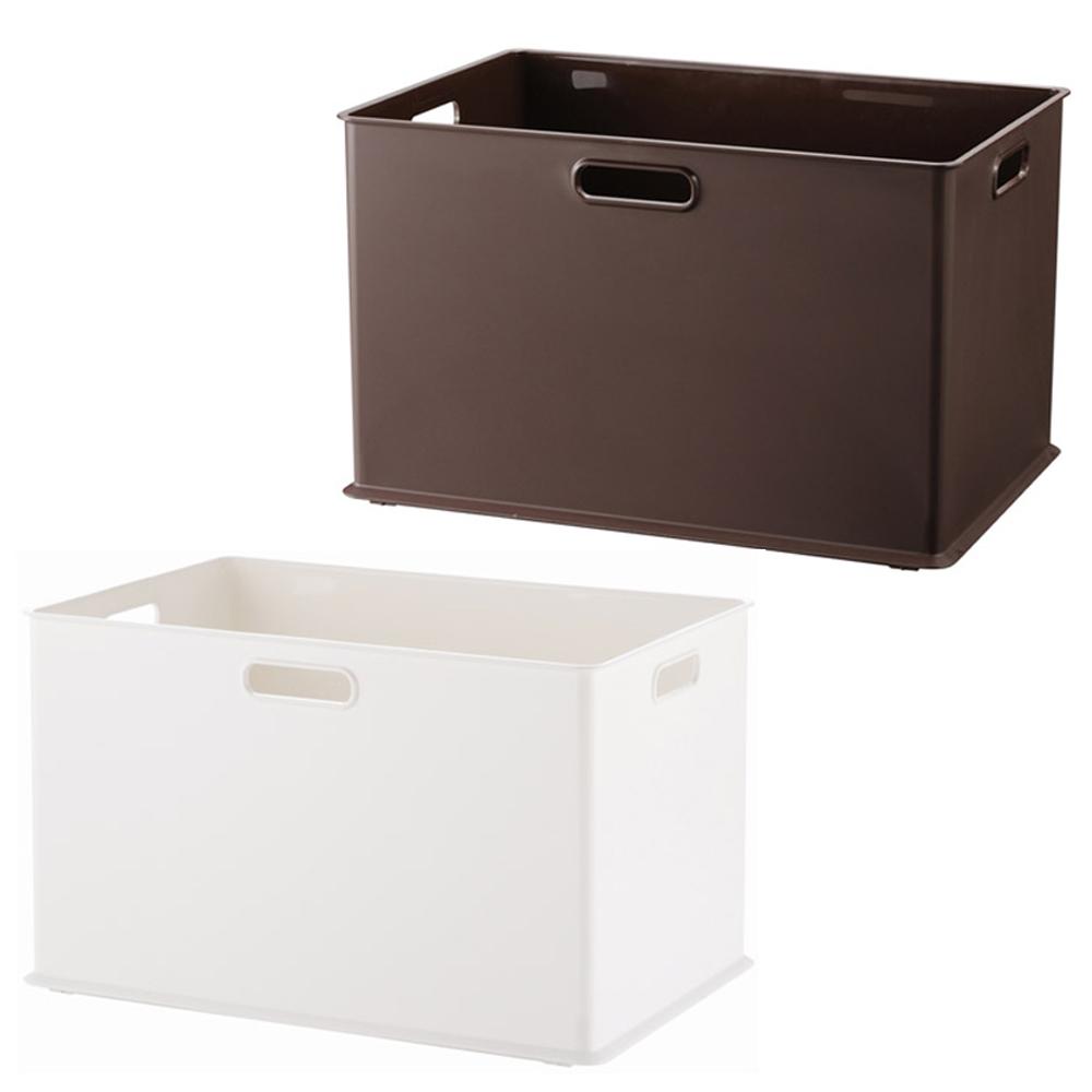 完美主義 塑膠收納盒標準款-2入(2色)-38x26x24cm