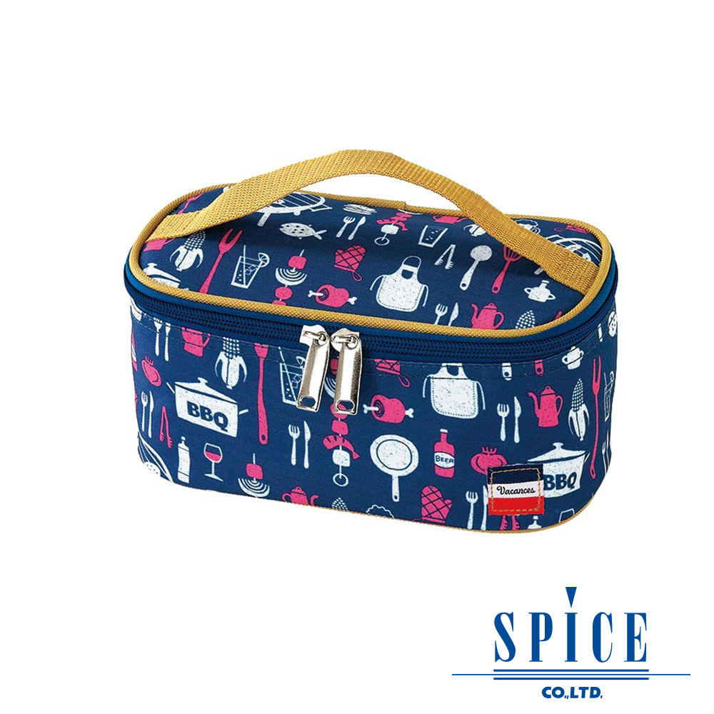 【SPICE】 日系 輕巧時尚 多功能 BBQ 保溫 便當袋