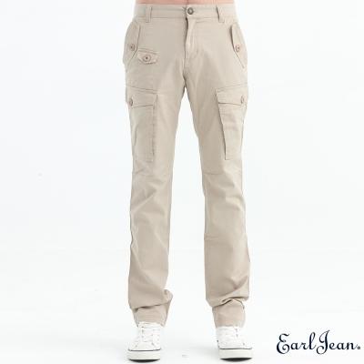 Earl Jean 多口袋卡其休閒工作褲