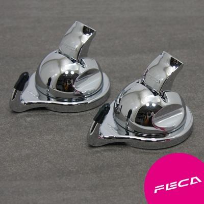 FECA非卡 無痕強力吸盤 武士萬用掛勾(銀)
