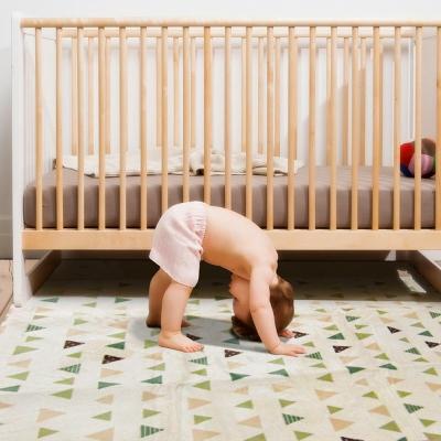 【范登伯格】法蘭絨彩色三角柔軟摺疊好收納進口地毯-150X200cm