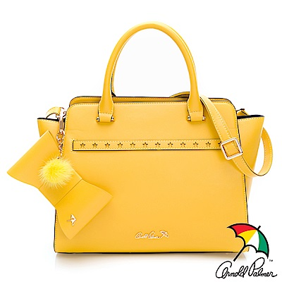 Arnold Palmer - 手提包 DOLLY系列-黃色