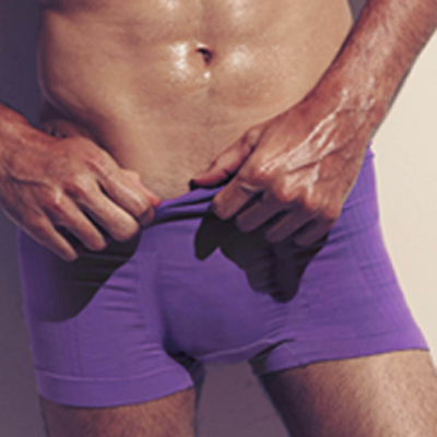 DAYNEER-健康系列-四角褲M10008-魅力紫