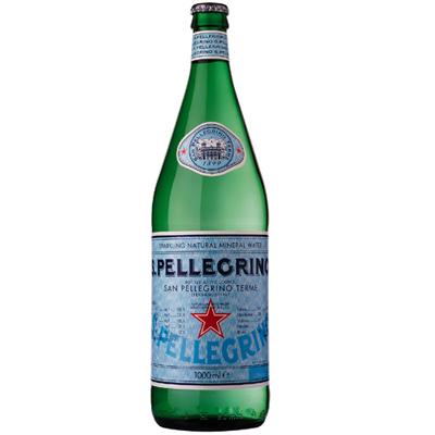S.Pellegrino聖沛黎洛 天然氣泡礦泉水(1000mlx12入)