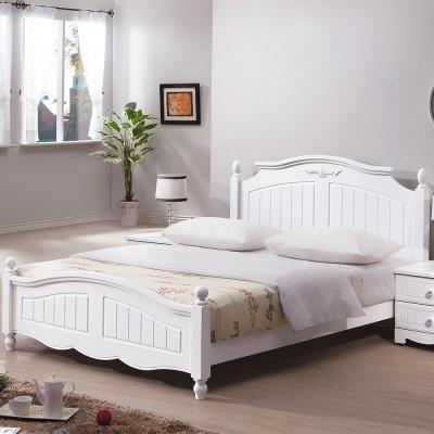 Bernice-艾莎法式5尺雙人床組(不含床墊)