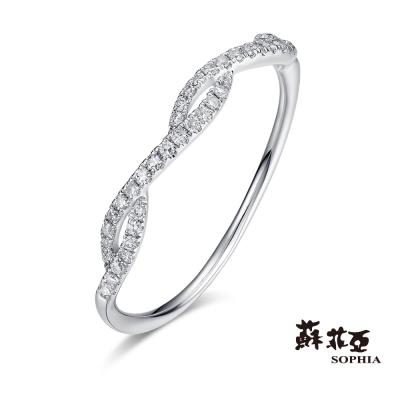 蘇菲亞SOPHIA 鑽石戒指 - 柔情 14K鑽石戒指(共兩色)