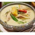 喜樂魚家庭廚房 綠咖哩蔬食4包入(370g/包)