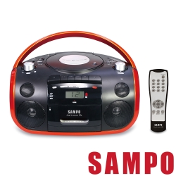 SAMPO聲寶 手提CD/MP3/USB/SD收錄音機 AK-W