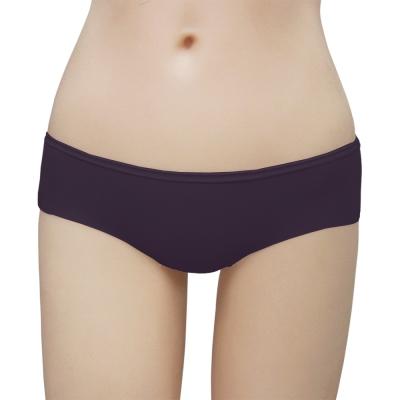 瑪登瑪朵-2014SS低腰寬邊三角褲(莓酒紫)