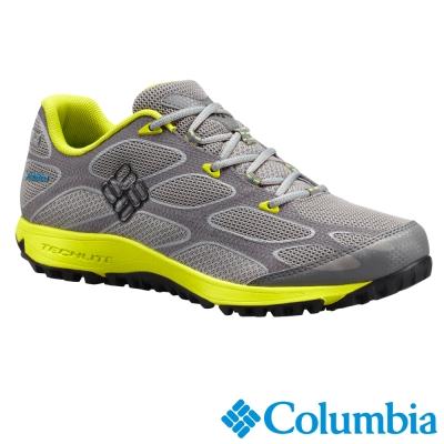 【Columbia哥倫比亞】男-戶外防水健走鞋-灰色 UBM60040GY